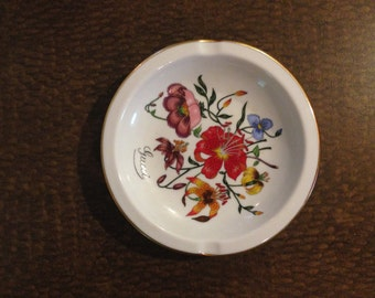 Floral Ash Tray