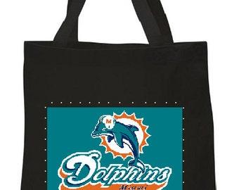 Miami Dolphins Tote Bag