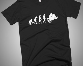 Sports Bike Evolution T-Shirt Gift