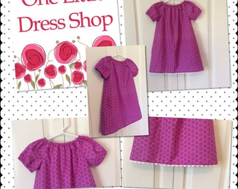Peasant Dress - Size 18-24 Months