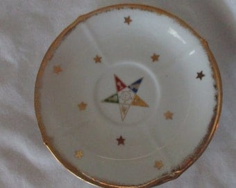 Vintage Norcrest China OES Saucer