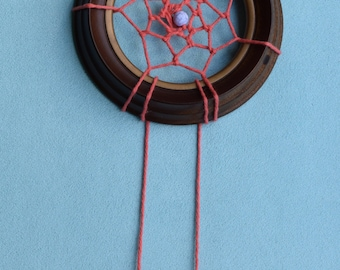 Up-cycled Picture Frame Dream Catcher