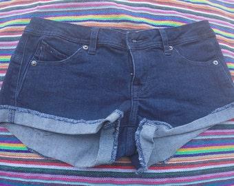 Denim Short-Shorts