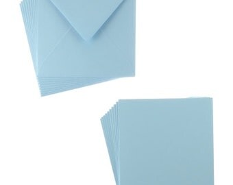 Blue square 135mm cards & envelopes from Sweet Dixie