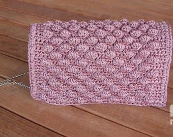 Crochet handbag,Evening purse,Luxury bag,Handmade handbag