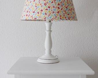 """Unique table lamp light """"letters"""""""