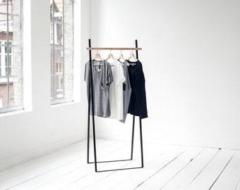 Black Clothing Rack XS Yaco Studio
