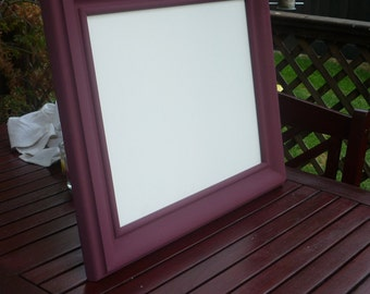 Picture Frame, (Purple) Restored - special finish.