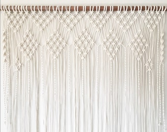 Large macrame wall hanging. Wedding backdrop. New home. Gifts. Wedding. Gifts for her. Home sweet home. Backdrop. Macrame. Wall hanging. Art