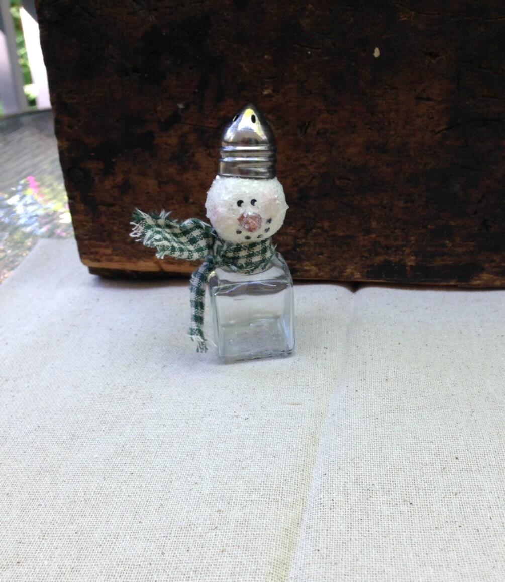 Small snowman salt shaker for Small snowman