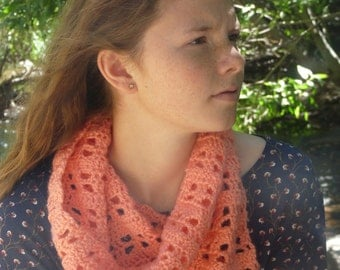 Pink Fence Cowl / Green Fence Cowl