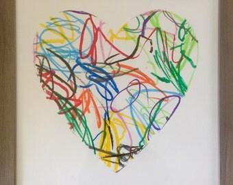 The Original Scribbled Heart