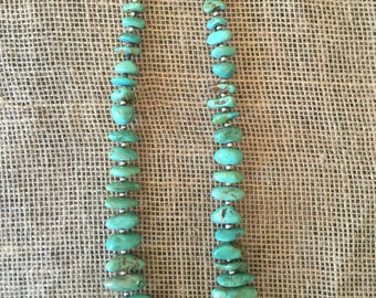 Native American Turquoise Necklace- Navajo