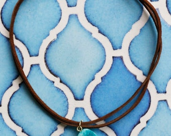 Turquoise Stone Choker