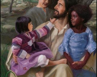Let the Children Come - Giclée Reproduction