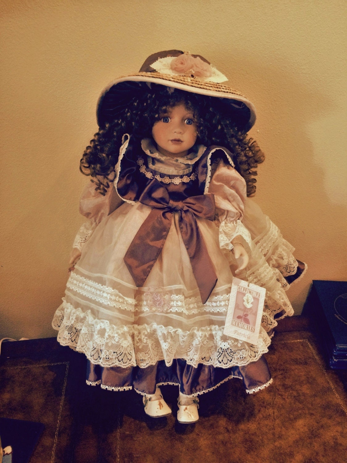 Collectible Memories Genuine Porcelain Doll Patricia