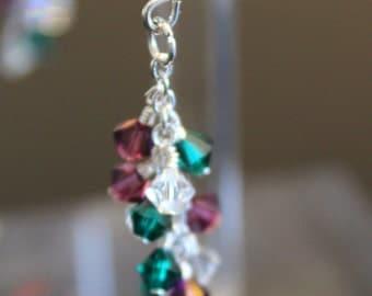 CUSTOM Birthstone Earrings // Mother's Day Earrings // Mom's Gift // Gift for Her // Gift for Christmas
