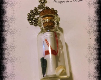 Message in a Bottle vial