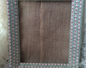 Country Chic Fabric Frame