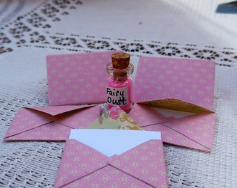 Fairy Letters and Jar of Fairy Dust