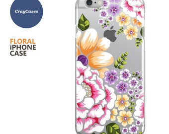 Floral iPhone 7 Case, Floral iPhone Case, Floral iPhone 6s Case, Floral iPhone 6 Case, Floral iPhone 6/7 Plus Case (Ships From UK)