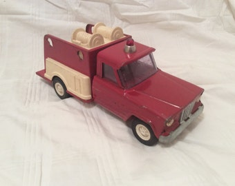 Tonka Toy Pumper Fire Truck 1970's