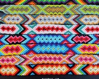 Friendship bracelet/Jamaica bracelet,knotted bracelet,green friendship bracelet,multi color handmade bracelet,Buy 3 get 1 free