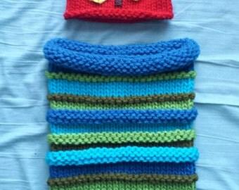 Hungry Caterpillar Sleep Cocoon & Hat