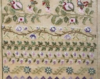 Maria Ceron 1830 Her Floral Band Sampler, Part 5