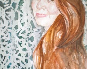 Custom Watercolor Portraits