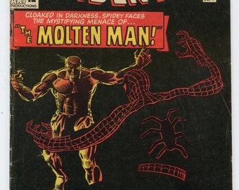 AMAZING SPIDER-MAN #26 (5.0) 1st Appearance Molten Man! Stan Lee Steve Ditko - Silver Age Marvel Comic Flat Rate S&H on Comics! see more!