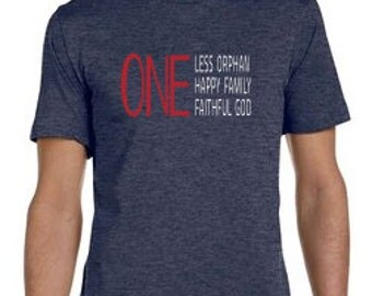 One Less Orphan Tee
