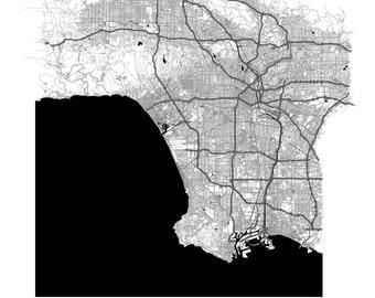 City Maps: Los Angeles