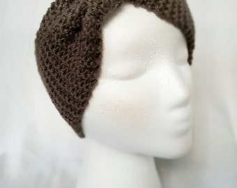 Hand Knit Ear Warmer Headband