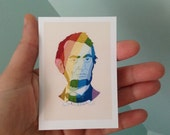 Tiny Print / Rainbow Abe