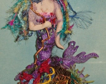 "10"" Mermaid Pincushion"