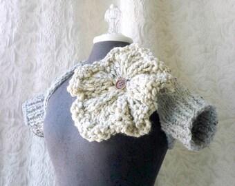Grand Central Shrug - Hand Knit Shrug - Made to Order
