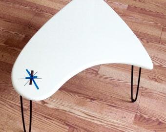 BOOMA-END coffee table - Salem Star burst Mid Century Modern - Classic