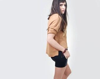 Mini Skirt • High Waist • Women's Skirts • Short Skirt • Black Gray Brown • Tall Length • Loft 415 Clothing (No. 11)
