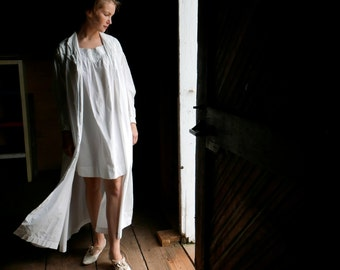 Victorian Summer Night Robe Dressing Gown XS