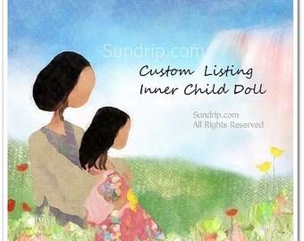 CUSTOM ORDER Inner Child Doll Deposit