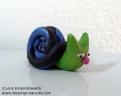 Big-Nosed Snail Monster - Feeping Creatures monster figurine