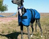 Reserved listing for Mikayla, GREYHOUND Winter Dog Coat size 27