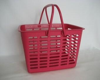 vintage plastic basket Yaffa