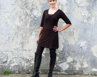ORGANIC Ritual Simplicity Tunic (light hemp/organic cotton knit) - organic tunic