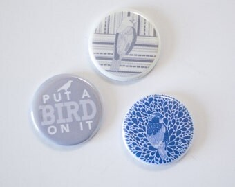 put a bird on it magnet set