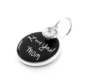 Bouquet Charm, Personalized, Custom Handwriting, Wedding Bouquet Charm, Signature Memorial Charm, Bridal Brooch, Photo Charm, Memory Charm