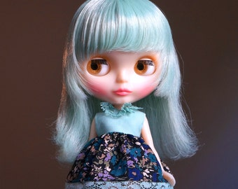 OOAK so tonight that i might see vintage dress for blythe