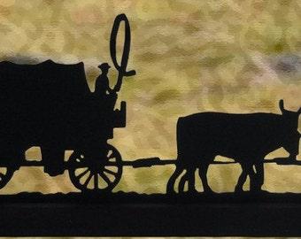 Oxen Wagon Etsy