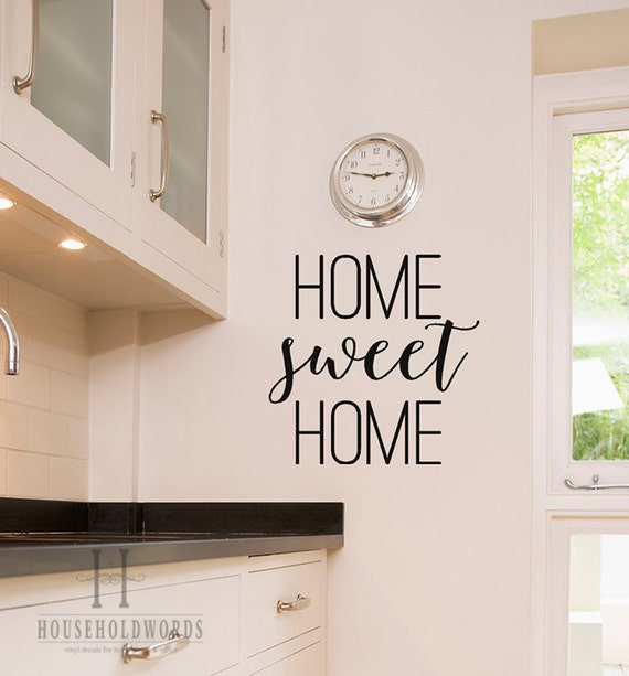 Home Sweet Home Wall Decor Vinyl Decals Home Decals Home